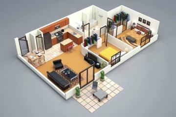 inilah 7 inspirasi desain & denah rumah minimalis satu